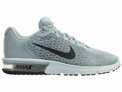 separation shoes 7b901 c001e Nike Men s Air Max Sequent 2 852461-002 Platinum Grey Knit Running Shoe Size  10