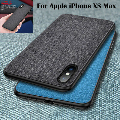For Apple iPhone XS Max 8 7 6 Plus Hybrid Bumper Thin Shockproof Hard Case Cover