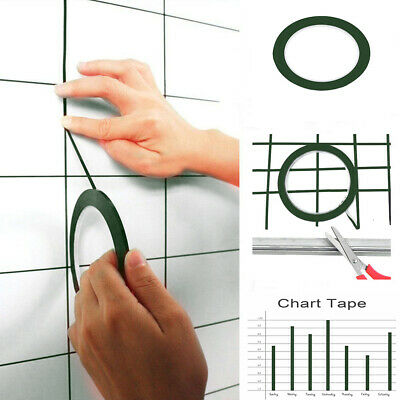 New3mm Self Adhesive Whiteboard Grid Gridding Marking Tape Non Magnetic Fine