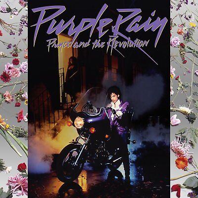 Prince Purple Rain Soundtrack CD NEW SEALED When Doves Cry/Let's Go Crazy+