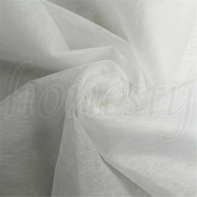 23g Double Sided Fusible Interfacing Fabric Buckram Tape Non-woven DIY Cloth