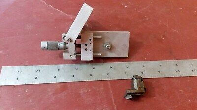 TOOL POST Carage MICROMETER ADJUSTMENT Lathe Mill Watch and Clock Makers