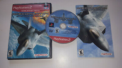 * PLAYSTATION 2 Game * ACE COMBAT 4 SHATTERED SKIES * PS2 US NTSC NOT UK