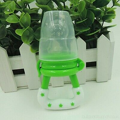 Green Small Baby Dummy Pacifier Fresh Fruit Food Feeder Nibbles Weaning Teething