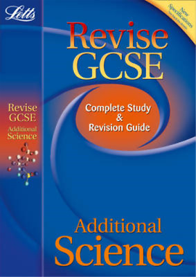Additional Science: Study Guide (Letts GCSE Success), Honeysett, Ian & Tear, Car