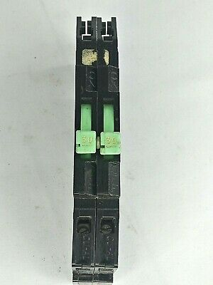 Used ZINSCO SYLVANIA 15A 1 Pole thin twin tandem Breaker RC-38-15