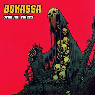 BOKASSA CRIMSON RIDERS CD (Released JUNE 21st 2019)