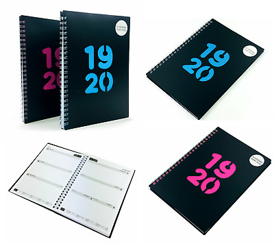 2019-2020 Academic A5 Diary Week To View Diaries Mid Year Organiser Spiral Bound