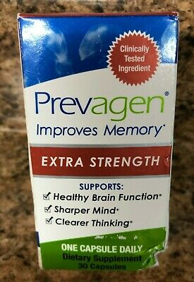 Prevagen Extra Strength 30 Capsules Improves Memory New In Box
