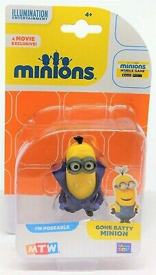 Despicable Me Minions Gone Batty Minion Collectible Mini Poseable Figure Toy