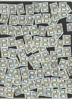 Stamps Canada # 523, 5¢, 1970, lot of 100 used stamps.