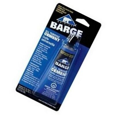 Barge All Purpose Cement 2oz Tube Rubber Wood Leather Glass Cork Metal
