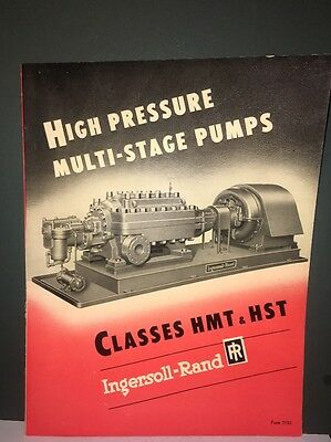 Ingersoll Rand High- Pressure Multi Stage Pumps Brochure.HMT&HST