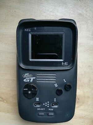 NEC PC ENGINE GT Launch Edition Black Handheld System
