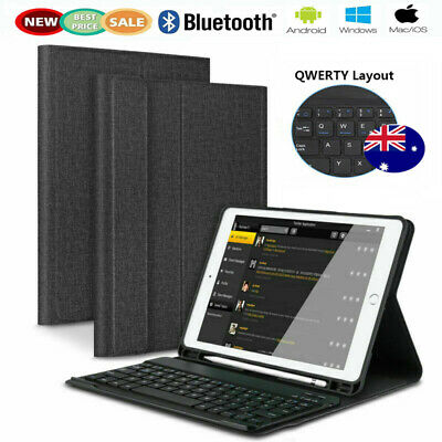 "Wireless Bluetooth Keyboard Case For iPad 9.7"" 6th/5th Gen 2018/2017 Pro Air 1 2"