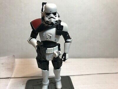 Star Wars TVC TRU Force Unleashed Imperial Navy Commando Officer Loose