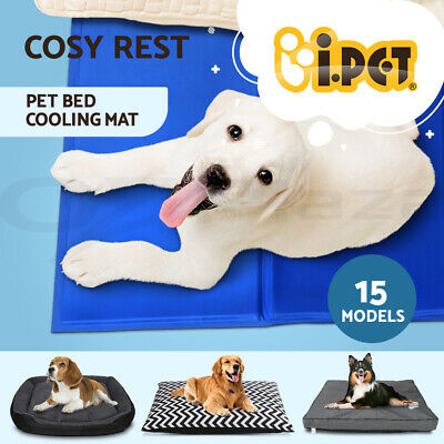 i.Pet Dog Bed Cat Beds Puppy Mattress Mat House Washable Soft Blanket Large