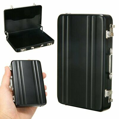 Credit Card ID Business Name Cards Holder Hard Case Bank Wallet Security Protect