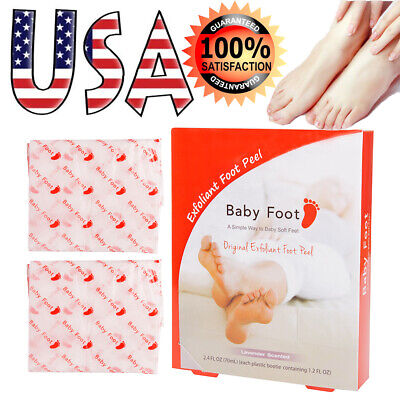 Baby Foot Lavender Scented Easy Pack Exfoliant Foot Peel Original Box Sealed USA