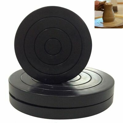 Plastic Turntable Pottery Clay Sculpture Tools 360° Flexible Rotation AU