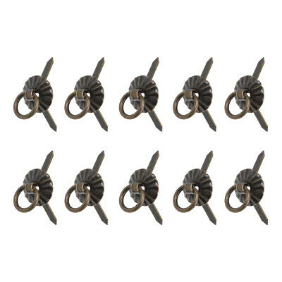 20Pcs Small Ring Pulls Handle for Decorative Jewelry Box Chest Drawer Cabinet