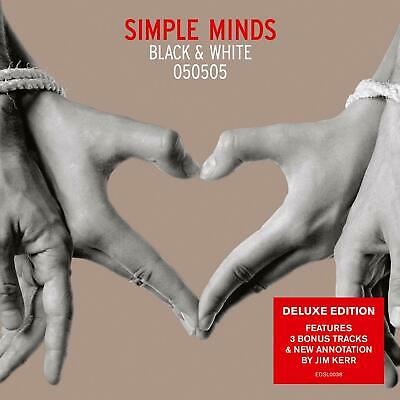 SIMPLE MINDS BLACK & WHITE 050505 DELUXE EDITION CD (Released May 28th 2019)