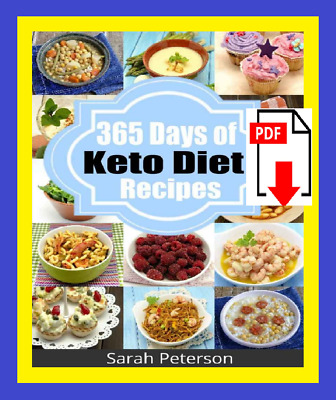 Ketogenic Diet: 365 Days of Keto Diet, Low-Carb Recipes for Rapid Weight Loss