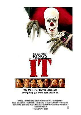 It movie poster : Stephen King  : 11 x 17 inches
