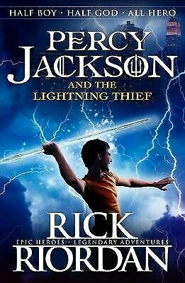 Percy Jackson and the Lightning Thief Book 1 by Rick Riordan Paperback NEW Book