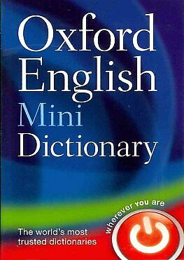Oxford English Mini Dictionary by Oxford Dictionaries Paperback NEW Book