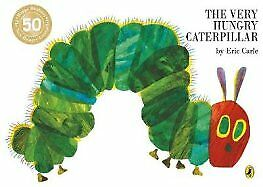 The Very Hungry Caterpillar by Eric Carle Paperback NEW Book