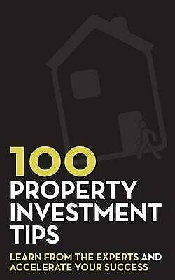 100 Property Investment Tips by Rob Dix and Rob Bence Paperback NEW Book