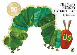The Very Hungry Caterpillar by Eric Carle Board book NEW Book