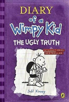 The Ugly Truth Diary of a Wimpy Kid book 5 by Jeff Kinney and Carmen McCullough