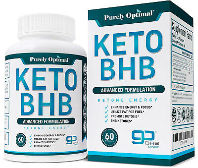 Premium Keto Diet Pills - Utilize Fat for Energy with Ketosis - Boost Energy -