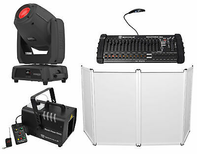 Chauvet DJ Intimidator Spot 475Z 250w Moving Head Light+Controller+Hazer+Facade
