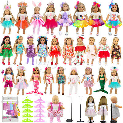 ZITA ELEMENT Lot Fashion Doll Clothes & Accessory for American 18 Inch Girl Doll