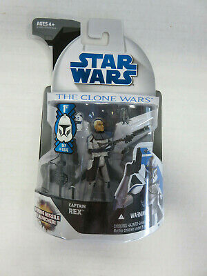 STAR WARS Clone Wars #4 CAPTAIN REX - 1st Day Issue FOIL VARIANT! Hasbro 2008