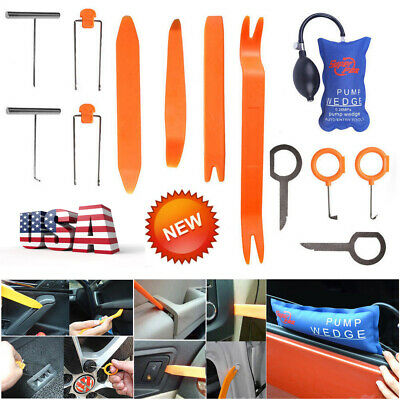 13× PDR Tools Pump Wedge Dash Door Radio Universal Open Pry Panel Removal Kits