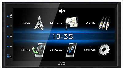 JVC KW-M25BT Doppel-DIN MP3-Autoradio Touchscreen Bluetooth USB iPod AUX