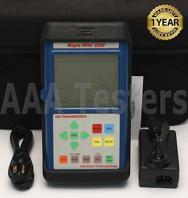 Panametrics Olympus Magna-Mike 8500 Hall Effect Thickness Gage Magna Mike Gauge
