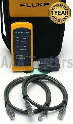 Fluke Networks MicroMapper LAN Wiremap Checker w/ Remote