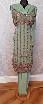 3 Piece Ready Made Embroidered Chiffon suits - Brand New in various sizes!