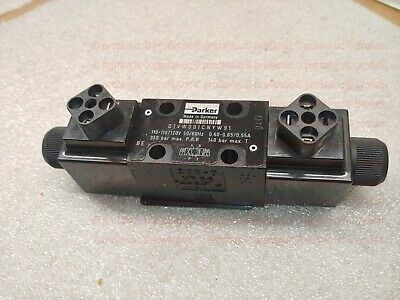 hydraulic Solenoid Actuated Control Valve D1vw001cnyw91 Parker distributeur 115v
