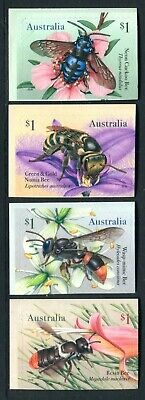2019 Native Bees - MUH Set of 4 Booklet Stamps