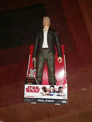 Star Wars Big-FIGS Poe Cameron Episode VIII Action Figure, 20""