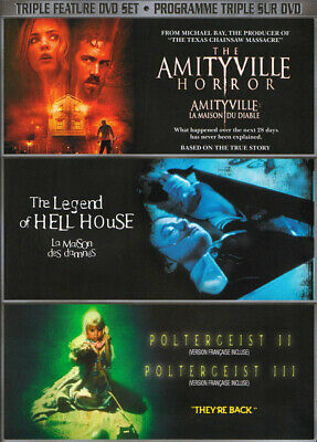 The Amityville Horror / The Legend Of Hell House / Poltergeist Ii And Iii  (Dvd)