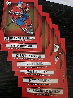 2018-19 O-Pee-Chee OPC Coast to Coast Pride of the North You Pick From List