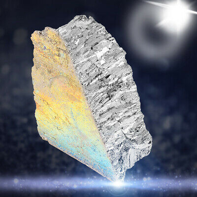 1000g Bismuth Metal Ingot 99.99% Pure Crystals Geodes For Crystals/Fishing