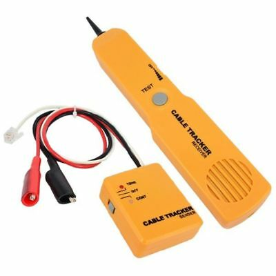 Telephone Network Cable Tester Diagnose Tone Line Finder Detector Tracer Top